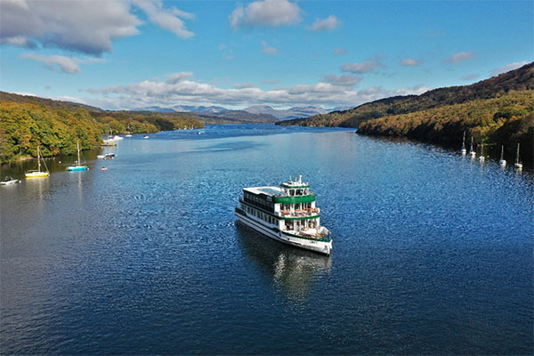 MV Swift - the brand new passenger vessel on Windermere