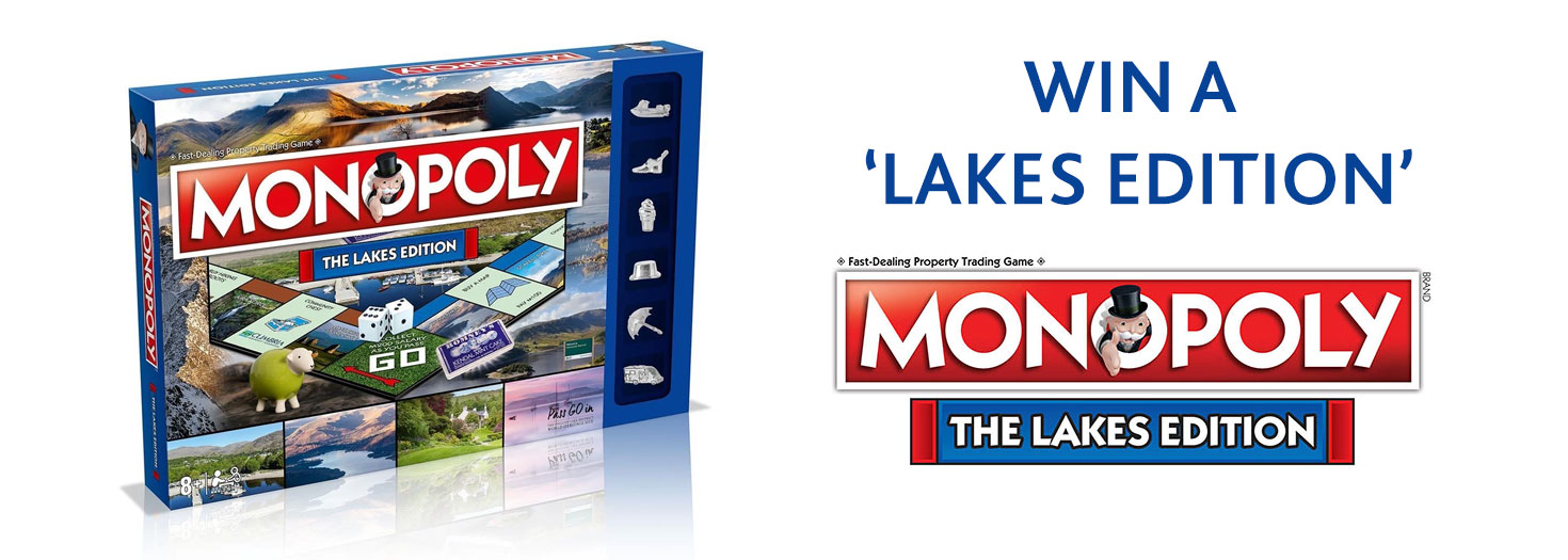 Win Monopoly - The Lakes Edition