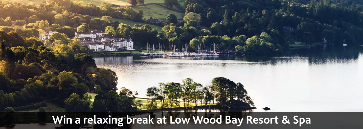 Win a relaxing break at Low Wood Bay Resort & Spa