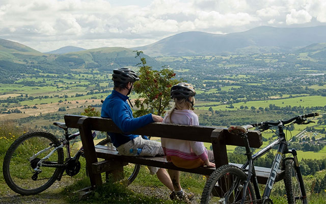 Gorse Cycle Trail at Whinlatter Forest