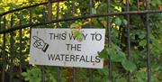 a short stroll from the property takes you to Stock Ghyll Falls