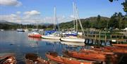 Boats at Waterhead