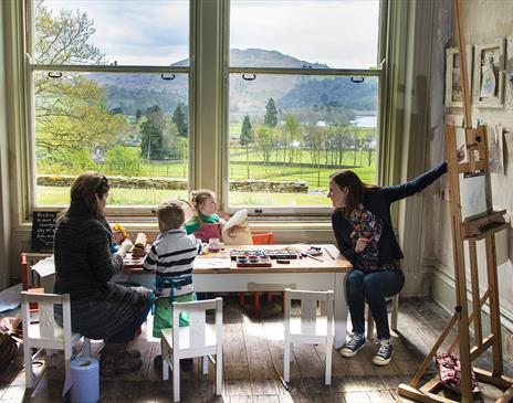 Arts Room © National Trust Images, Jill Jennings