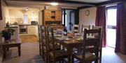 Brae Fell dining room and kitchen