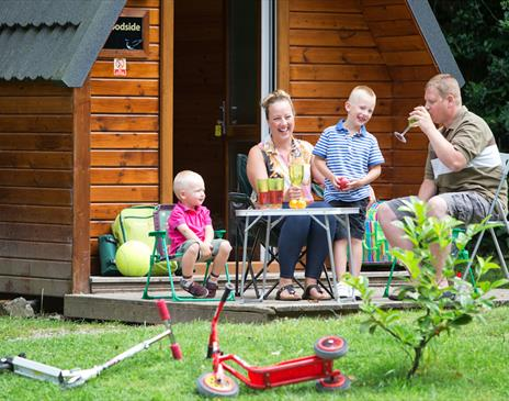 Glamping at Fell End Holiday Park