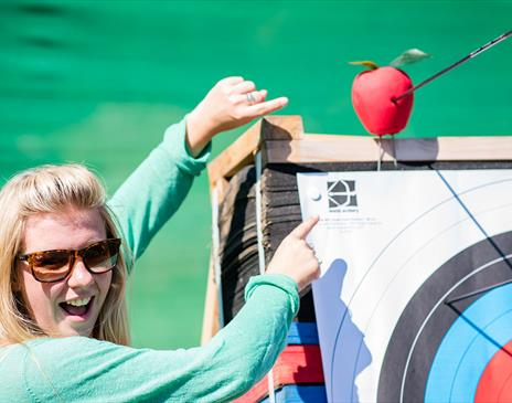 Archery & Axe Throwing with Graythwaite Adventure