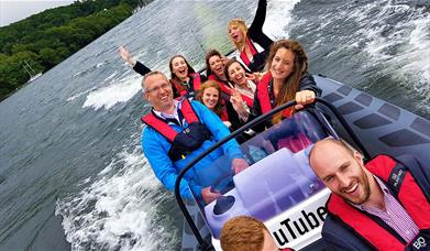 Graythwaite Adventure - RIB Ride