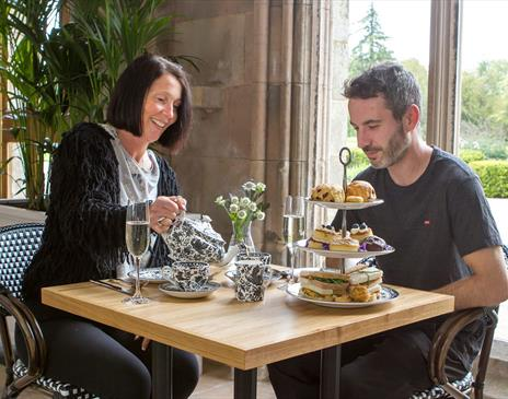 Lowther Castle & Gardens - Afternoon Tea in The Sculpture Gallery
