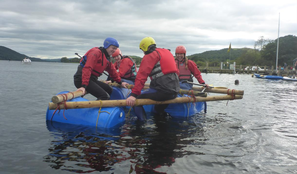 Joint Adventures - Raft Building