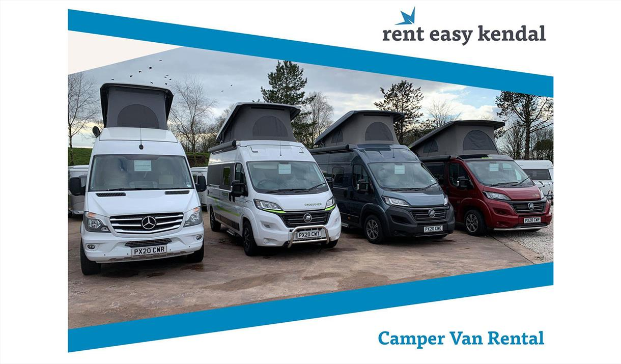 Rent Easy Camper Van Rental, Kendal