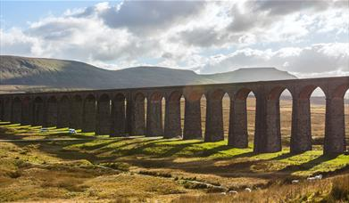 Ribblehead Viaduct - Settle to Carlisle Railway. Photo by Stuart Petch.