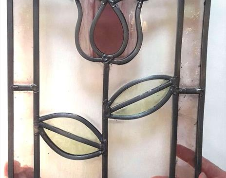 Make a Stained Glass Panel 2 day course with Sarah Walkley