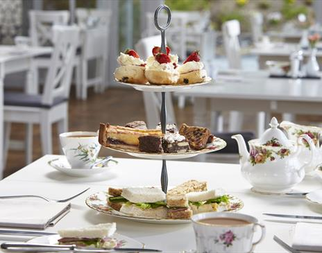 Afternoon Tea at Broadoaks Country House