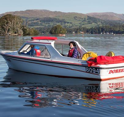 Windermere Lake Cruises, Self Drive Boats