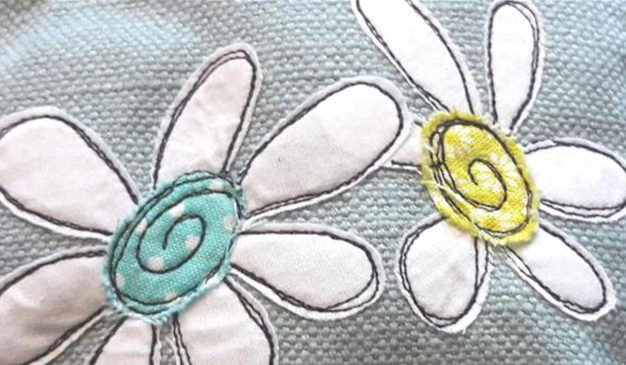 'Applique & Stitch' Discovering Machine Embroidery at Quirky Workshop