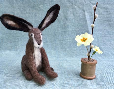 Needle Felt workshop at Cowshed Creative