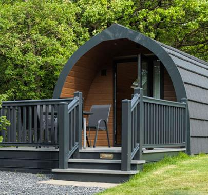 Camping Pods at Holgates Holiday Park, Silverdale