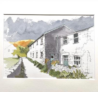 Line & Wash ....'Buildings in the Landscape' with John Harrison at Quirky Workshops