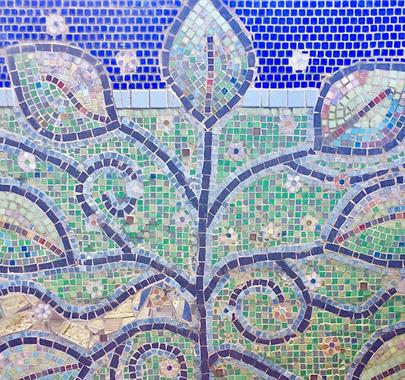 Mosaic Workshop at Cowshed Creative