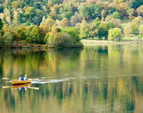 Rowing on Grasmere