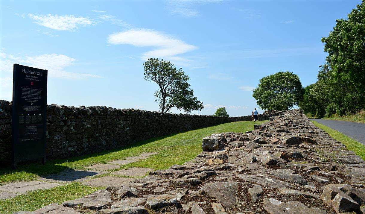 Banks East Turret; Hadrian's Wall