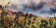 Hidden Hedgerows exhibition by Ruth Clayton Wickerfish art studio Farfield Mill
