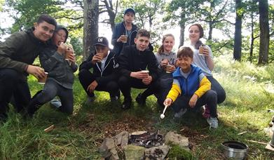 Bushcraft Experience with Graythwaite Adventure