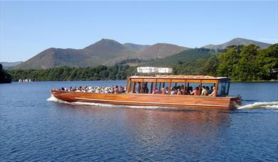 Keswick Launch Co - Lake Cruises on Derwentwater