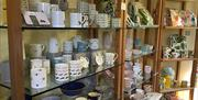 The shop at Levens Hall, Gardens & Kitchen