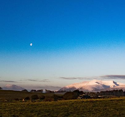 Moon over Blencathra - Cairnstones