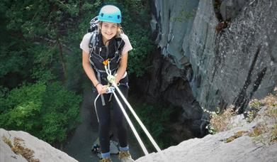 Rock Climbing and Abseiling with Path to Adventure