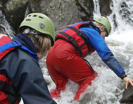 Ghyll Scrambling with Adventure Vertical